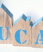 casette in legno di recupero per bambino