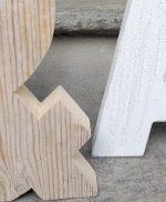 & in legno di recupero per matrimonio