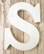 Lettere da appendere a parete personalizzate nei colori e nelle misure