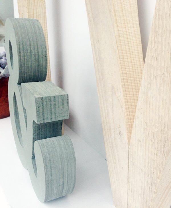 Wedding-Lettere in legno