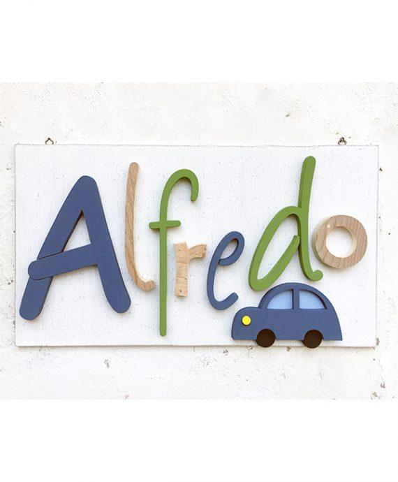 Pannello decorativo per camera bambino con nome