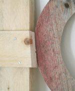 Lettere fatte a mano in legno di recupero per scritta HOME