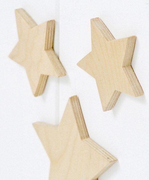 stelle in legno per decorare la cameretta