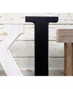 Lettere in legno di recupero per scritte da mettere in cucina