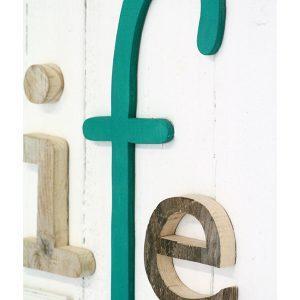 Lettere in legno per comporre scritta Life