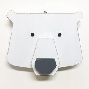 Decorazione per la camera dei bambini a forma di orso
