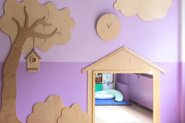 Progetto e realizzazione dello spazio giochi in un asilo nido