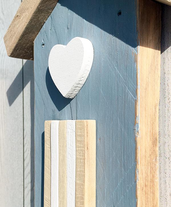 cabine da appendere per decorare la casa al mare in legno di recupero