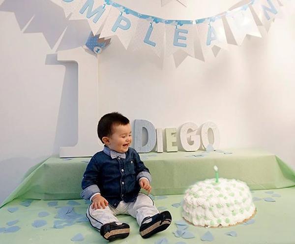 Decorazioni in legno per festa di compleanno di bambino