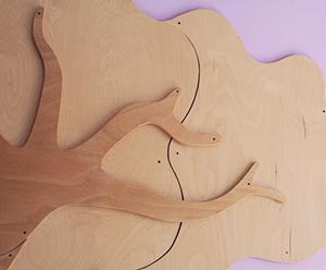 Arredamenti e decorazioni in legno per scuole materne