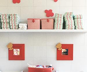 Specchi e decorazioni in legno per scuole materne